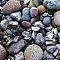 colurfull stones